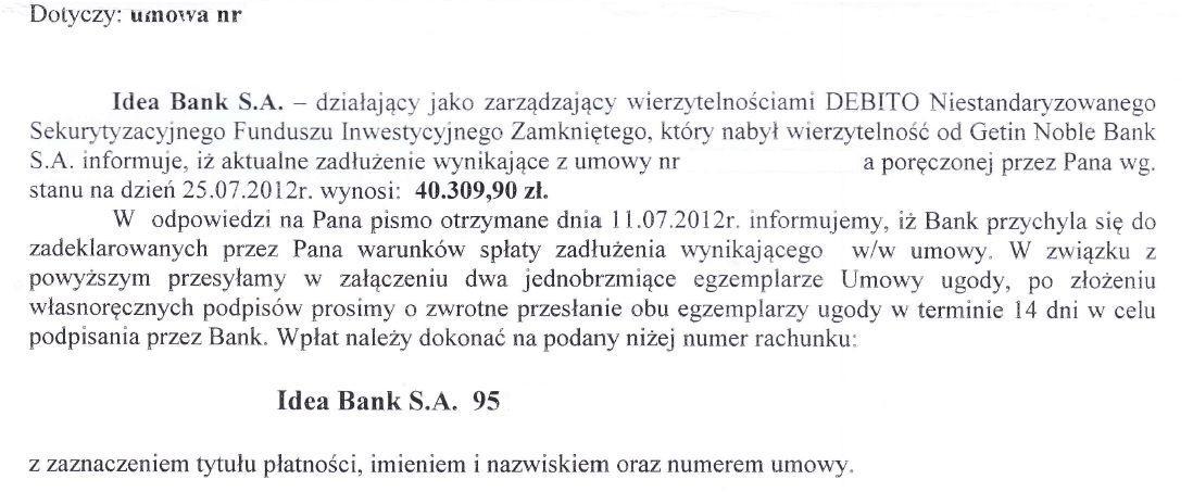 ugoda bankowa 2